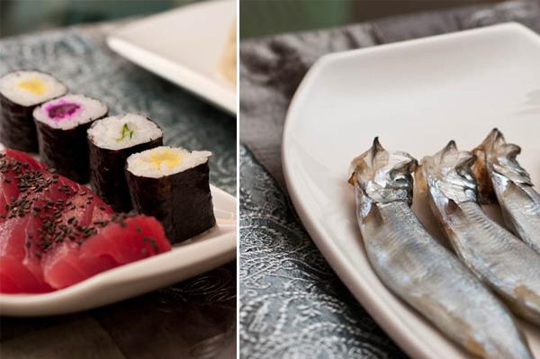 More tuna sashimi
