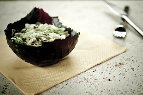 Three-Seed Cabbage Salad
