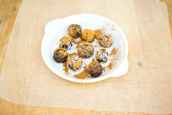 Very Cherry Chocolaty Larabar Truffles