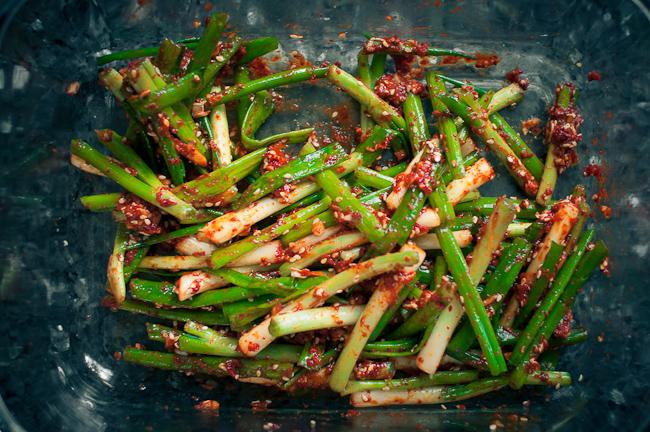 Quick Scallion Kimchee (Kimchi)